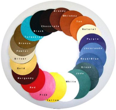 Free Kangaroo Lace Color Chart